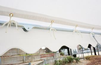 国産フレーム・国産生地使用の安心テント