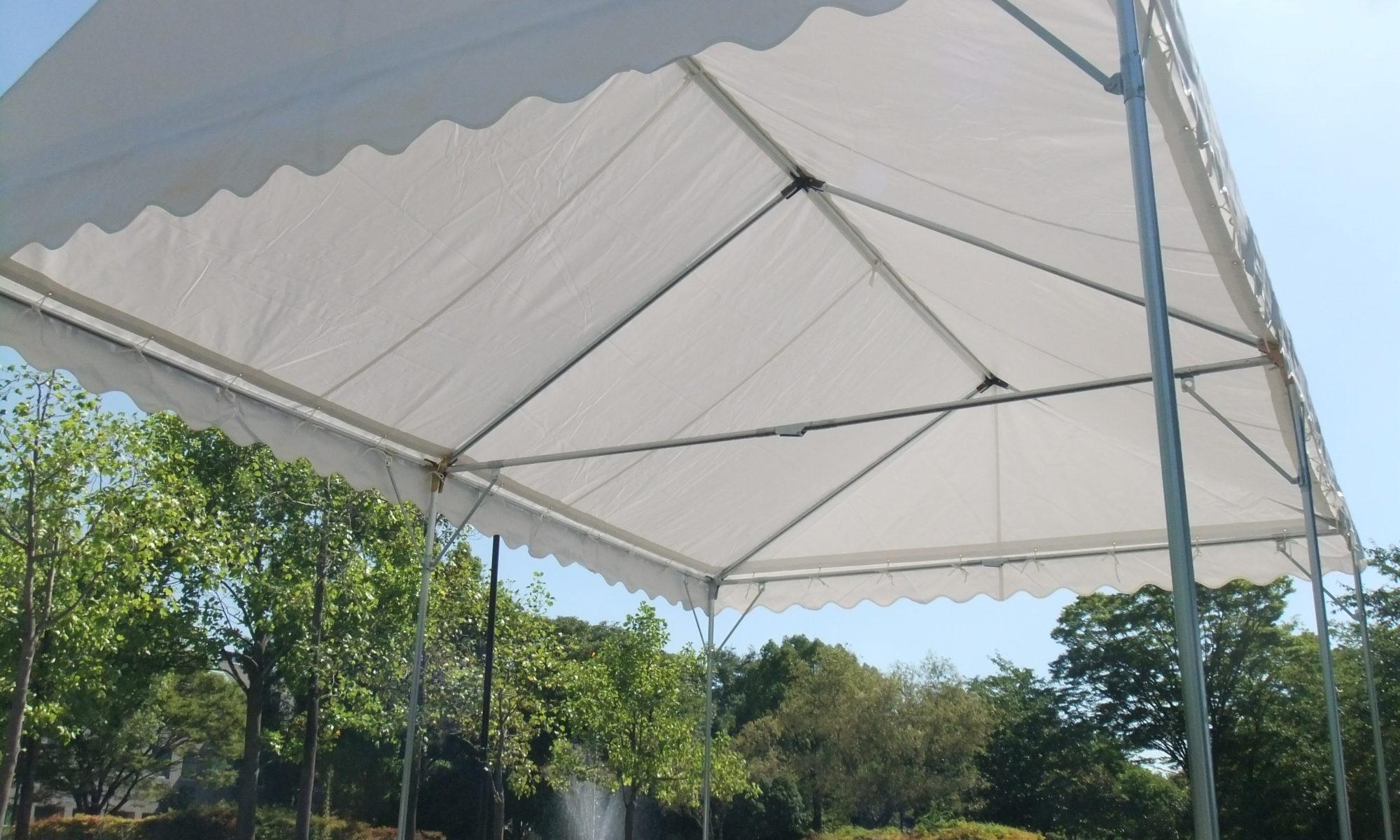 テントの天幕破けていませんか